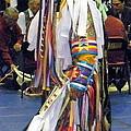 Pow Wow Dancer by Glenn Aker