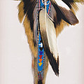 Pow Wow Regalia - White by Glenn Aker