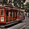 Powell And Market Cable Car by David Bearden