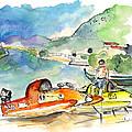 Power Boats World Championship In Barca De Alva 04 by Miki De Goodaboom