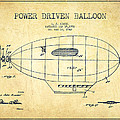 Power Driven Balloon Patent-vintage by Aged Pixel