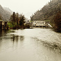 Power Plant On River by Roberto Pagani