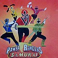 Power Rangers Samurai by Rich Fotia