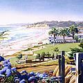 Powerhouse Beach Del Mar Blue by Mary Helmreich