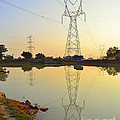 Powerline And Pylons by Image World