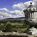 Powis Castle Garden Urn by Fran Gallogly