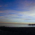 pr 243- Sunset Over Capitola Pier by Chris Berry