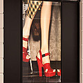 Prada Red Shoes by Rick Piper Photography