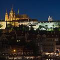 Prague  Castle At Night by Jaroslav Frank