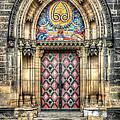 Prague Castle Doorway by John Magyar Photography