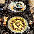 Prague Clock Orloj by Justyna JBJart