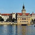 Prague East And Charles Bridge by Steven Liveoak