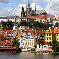 Prague Skyline by Ira Shander
