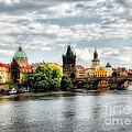 Prague Panorame by Justyna JBJart