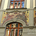 Prague - Mucha Mural by Gregory Dyer