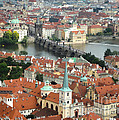 Prague - View From Castle Tower - 03 by Gregory Dyer