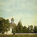 Prairie Church by Margie Hurwich