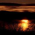 Prairie Sunset by Bruce Crummy