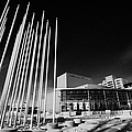 prairie wind sculpture outside the remai arts centre Saskatoon Saskatchewan Canada by Joe Fox