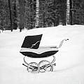 Pram In The Snow by Edward Fielding