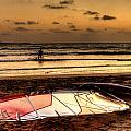 Prasonisi - A Day Of Windsurfing Is Over by Julis Simo
