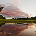 Pratt Cove Sunset by Jonathan Steele