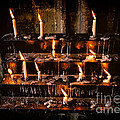 Prayer Candles by Adrian Evans