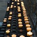 Prayer Candles by Frank Gaertner