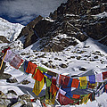 Prayer Flags Himalaya India by Colin Monteath