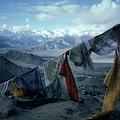 Prayer Flags Leh Ladakh by Ralph Davis