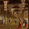 Prayer In The Mosque by Jean-Leon Gerome
