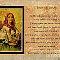 Prayer To St. Dymphna 2 by Barbara Griffin
