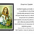 Prayer To St. Dymphna by Barbara Griffin