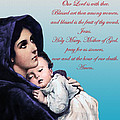 Prayer To Virgin Mary by A Samuel