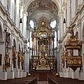 Praying At Munich Church Germany by Imran Ahmed