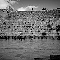 Praying At The Western Wall by David Morefield