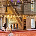 Praying Muslims by Sophie McAulay