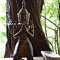 Praying Statue - Panviman Chiang Mai Spa And Resort - Chiang Mai Thailand - 01131 by DC Photographer
