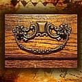 Pre-civil War Bookcase-drawer Pull by Ellen Cannon