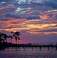 Pre-dawn Colors On Santa Rosa Sound by Jeff at JSJ Photography
