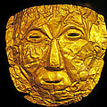 Pre-inca Gold Mask by Buddy Mays