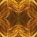 Precious Metal 3 Ocean Waves Dark Gold by Andee Design
