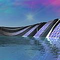 Precious Water Alien Landscape by Judi Suni Hall