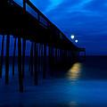 Predawn Blue Beneath Pier by Gavin Baker