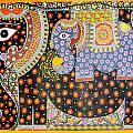 Pregnant Elephant by Neeraj kr Jha