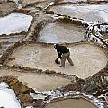 Preincan Salt Mines In Maras Peru by Jared Bendis