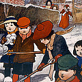Preparing For The Snowball Fight by English School