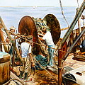 Preparing The Nets by Karol Wyckoff