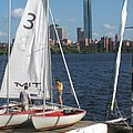 Preparing To Sail In The City. by Barbara McDevitt