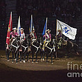 Presenting The Colors On Horseback by Janice Pariza